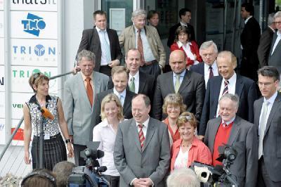 Bundesfinanzminister Peer Steinbrück im IZB Fotos: Dominik Gierke
