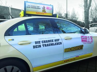 LottoHamburg Seitenwerbung Hamburg 2017