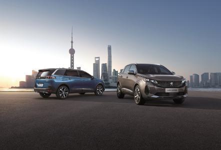 PEUGEOT SUV RANGE 4008 5008 Shanghai 2021
