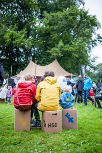 Publikum vor der HSBühne bei Summer Sounds 2017, Foto: Sabrina Peters, Hochschule Bremen