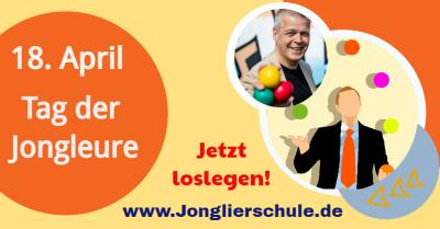 Internationaler Tag der Jongleure am 18. April