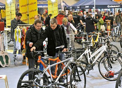 Fahrrad Essen vom 24. bis zum 26. Februar 2012 in der Messe Essen