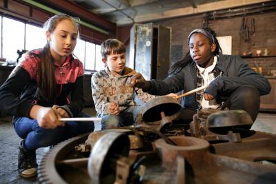 Kostenloses Herbstferien-Programm für Jugendliche auf dem UNESCO-Welterbe Zollverein