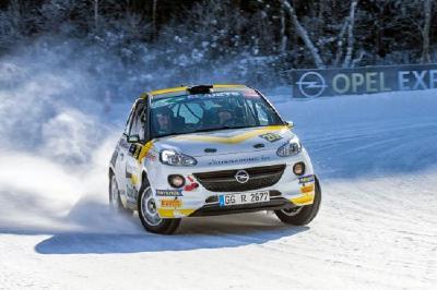 Potente Partner: Opel setzt das erfolgreiche Motorsport-Engagement auch in der Saison 2018 fort. Der ADAM Cup und der ADAM R2 eignen sich ideal zur Nachwuchsförderung.