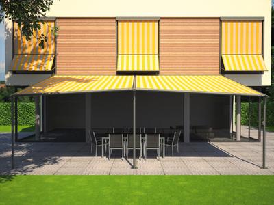 lauschiger schattenplatz mit markilux pergola markilux pressemitteilung. Black Bedroom Furniture Sets. Home Design Ideas