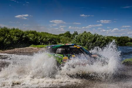 2016 Silk Way Rally - Leg 3 Ufa-Kostanay - Yazeed Al Rajhi (KSA), Timo Gottschalk (GER), MINI ALL4 Racing 103 - X-raid Team - 11.07.2016