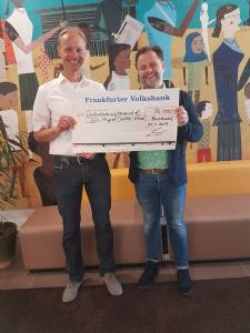 Musiker Arne Kopfermann spendet an World Vision