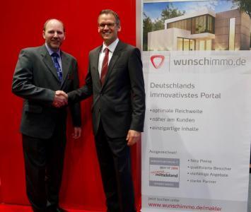 Maklernetzwerk IMAXX schließt Kooperationsvertrag mit wunschimmo.de
