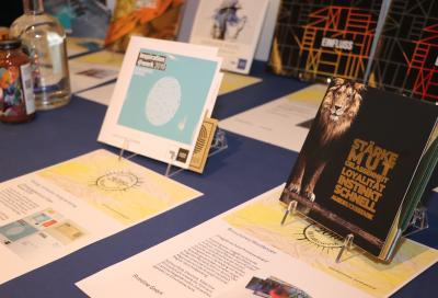 Exponate der Edelmeister-Exponate-Ausstellung