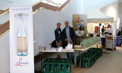 Ursula Maria Lang, Mitinitiatorin der St. Leonhards Akademie und Werner Langbauer, Ernährungsexperte und Gesundheitscoach, Leiter des Projektes GUTE ENERGIE AM ARBEITSPLATZ