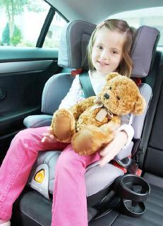 Eine sichere Fahrt - mit richtig angeschnallten Kindern
