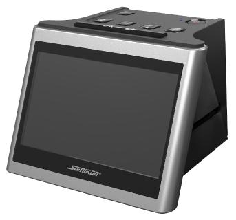 "Somikon Stand-Alone-Dia- und Negativscanner SD-1200, 12,5 cm IPS-Display (5""), 14 MP"