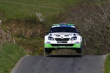 Good ERC Circuit of Ireland Friday for Flying Finn Lappi