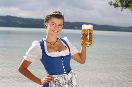 Bayerische Bierkönigin 2017/2018 Lena Hochstraßer, Quelle: Bayerischer Brauerbund e.V.