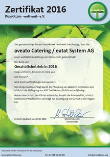 Eventcatering-Ranking 2016: green Catering by aveato auf Platz 5