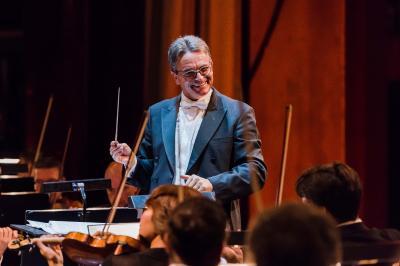 Prof. Ulf Schirmer Intendant und GMD Oper Leipzig, Foto: ©Kirsten Nijhof