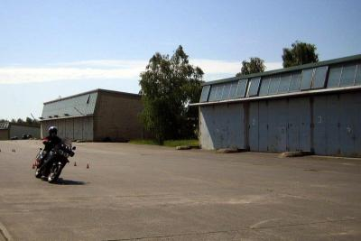 Motorradtraining / Foto: Alexander Weil/Vogelsbergkreis