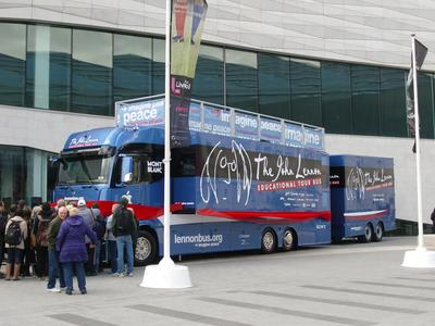 KETTERER TRUCKS builds new John Lennon Bus
