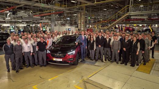 Opel Grandland X Hybrid4 Eisenach / Opel Automobile GmbH