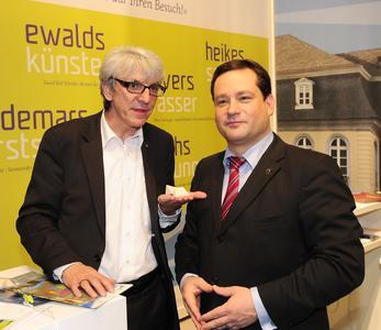 ITB 2012: Karlsruhe | Tourismus präsentiert sich mit neuem Auftritt