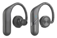 auvisio True Wireless In-Ear-Headset IHS-590.bt. V2, Ohrbügel, Bluetooth, 15 Stunden Spielzeit