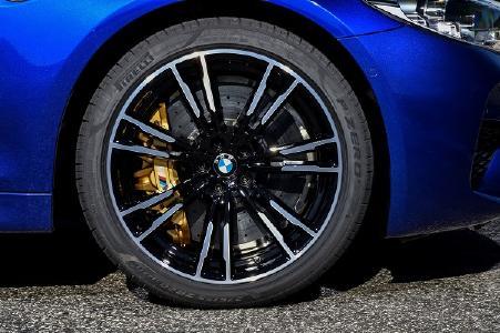 Für den neuen BMW M5 mit dem innovativen Allradsystem M xDrive entwickelten Ingenieure von Pirelli eine maßgefertigte Version des P Zero / Foto: Uwe Fischer