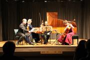 Das Ensemble Louis Ferdinand auf der Bühne in Liebenburg