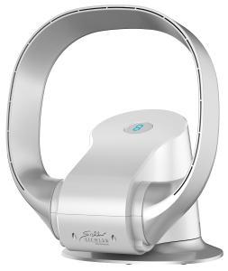 Sichler Haushaltsgeräte Rotorloser 360°-Ventilator VT-365.app, WLAN, App, superleise, 26 Watt
