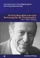 Buchcover »Herbert Rosenfeld und seine Bedeutung für die Psychoanalyse«