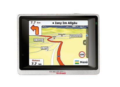 PEARL 3,5-GPS-Navigationssystem VX-35 Easy