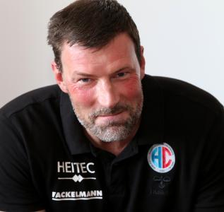 """HCE-Trainer Andersson: """"Das wird kein Selbstläufer gegen Wetzlar"""" / (Foto: hl-studios, Erlangen)"""