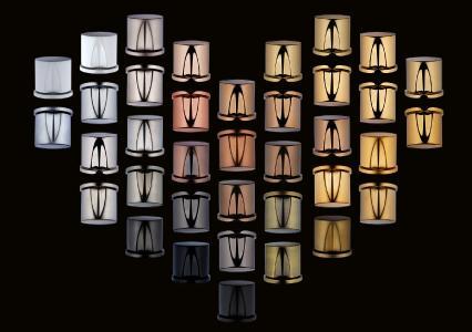 Eine große Farbauswahl für Duschenbeschläge bietet der Glashersteller SPRINZ passend zu Armaturen namhafter Hersteller
