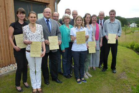 Das WABE-Team freut sich zusammen mit den diesjährigen Preisträgern des Klaus-Bahlsen-Preises