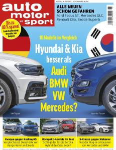 AUTO MOTOR UND SPORT 15/2019 / Motor Presse Stuttgart