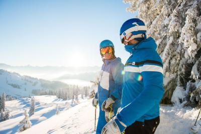 Skifahren in Hörnerdörfern im Allgäu