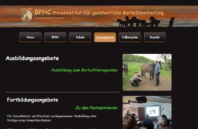 BPHC - Privatinstitut für ganzheitliche Barhufbearbeitung