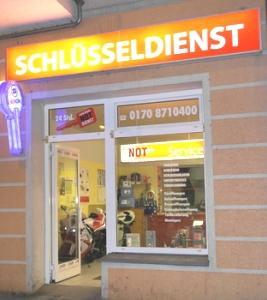 Schlüsseldienst Berlin Klaus Schulze- Ladengeschäft