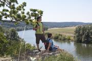Bild 3: Blick vom Hoppefelsen ins Donautal / Foto: Stefan Gruber