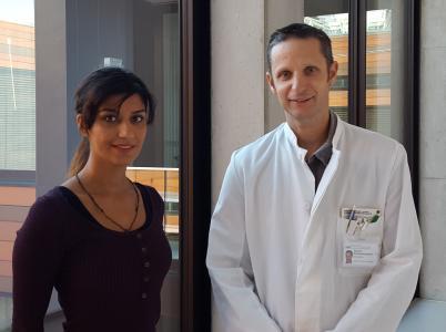 Dr. med. vet. Mehrnoosh Jafari und -Prof. Dr. med. Martin Kerschensteiner