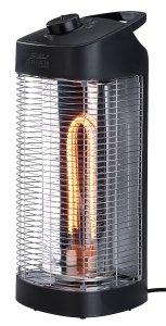 Sichler IR-Heizstrahlersäule IRW-1300.rbl, innen & außen, Oszillation, 600 / 1.200 Watt IPX4