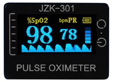 newgen medicals Medizinischer Finger-Pulsoximeter mit OLED-Farbdisplay, exakte Messung