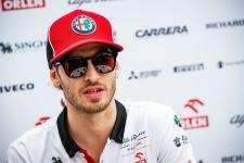 Antonio Giovinazzi to fly the team's flag at the Formula One Virtual Grand Prix