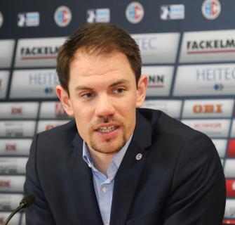 HCE-Geschäftsführer René Selke: wir rechnen mit rund 3.000 Fans (Foto: HJKrieg, Erlangen)