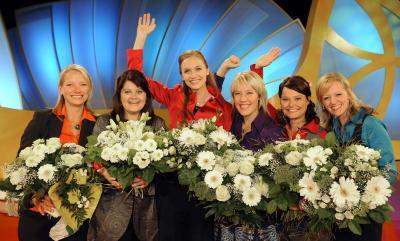 sechs Finalistinnen