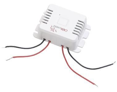 CASAcontrol Einbau-Funk-Schaltmodul KFS-150.fem & kinetischer Funk-Taster KFS-100.l (groß), bis 200 Watt