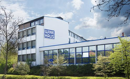 Für das expandierende Unternehmen ist der Standort am Bohlweg in Münster zu klein geworden. Daher zieht Winkhaus in den Norden der Stadt