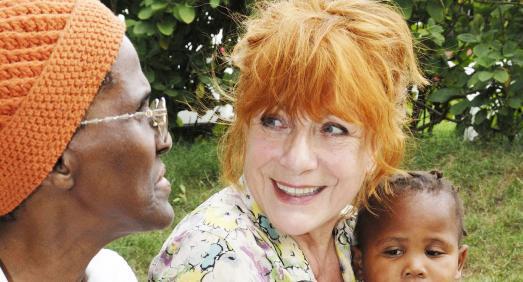 HelpAge Botschafterin Hannelore Hoger