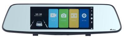 NX 6104 06 NavGear Full HD Rueckspiegel Dashcam. Rueckfahrkamera NAV 185.fhd