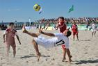 DFB-Beachsoccer-Cup-Finale in Warnemünde