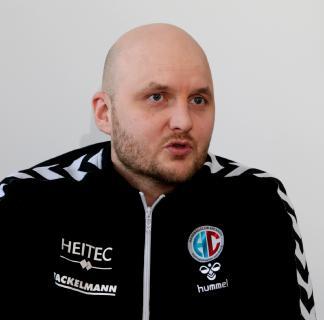 HC-Trainer Adalsteinn Eyjolfsson: der TBV Lemgo ist sehr stark / Foto: HJKrieg, Erlangen